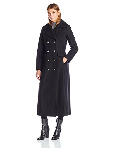 BCBGeneration Women's Maxi Military Wool Peacoat