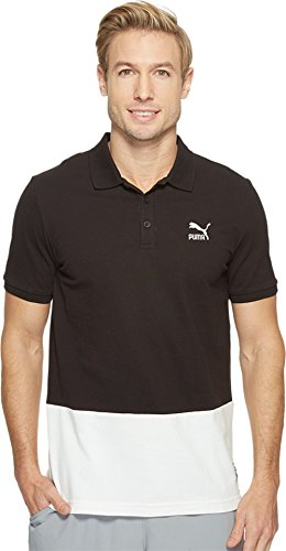 PUMA Mens Archive Logo Polo