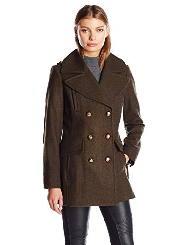 BCBGeneration Women's Military Wool Peacoat
