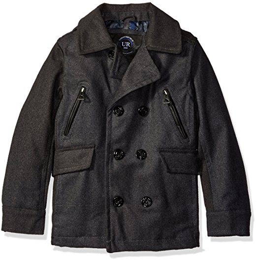 Urban Republic Boys' Classic Wool Peacoat