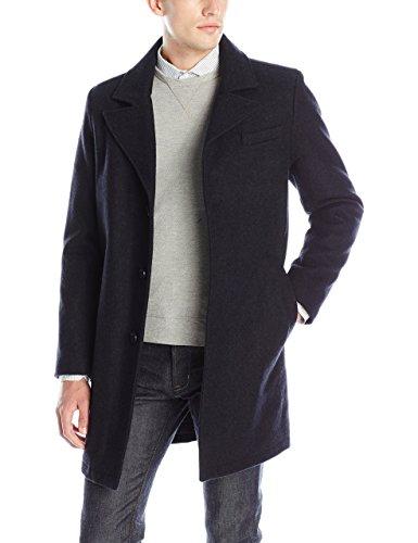 Kenneth Cole New York Men's Single Breasted Wool Walker