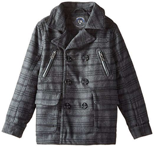 Urban Republic Big Boys' Classic Peacoat