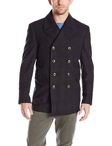 Hart Schaffner Marx Men's Pearson Contemporary Pea Coat