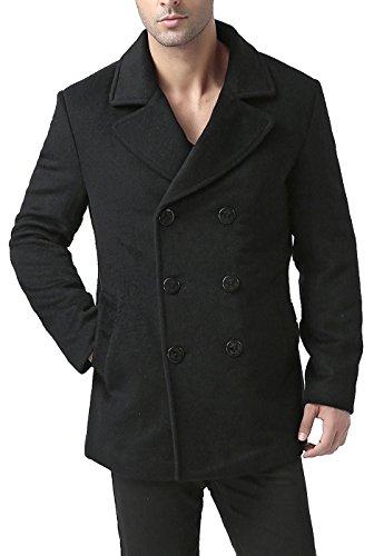 BGSD Men's 'Bradley' Cashmere Blend Pea Coat