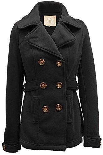 Ci sono Fleece Peacoat Outerwear CF01