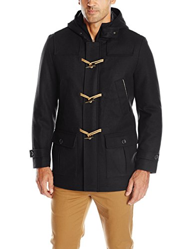 Nautica Men's Wool Melton Toggle Coat
