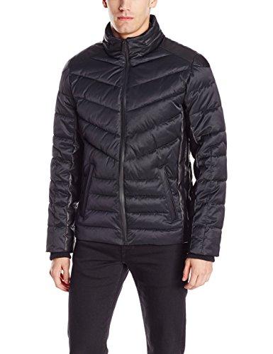 Calvin Klein Men's Micro Texture Puffer Jacket